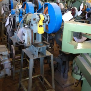 4 TON ALCECO MODEL 4 IP MECHANICAL OBI PUNCH PRESS, # 514