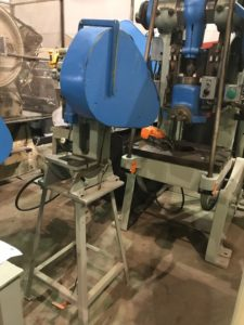 5 TON ALVA ALLEN MODEL BT5 MECHANICAL OBI PUNCH PRESS