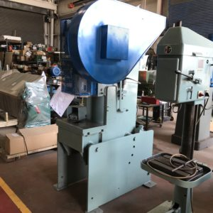 22 TON AZIMUTH MODEL 22-IP OBI AIR ACTUATED MECHANICAL PUNCH PRESS