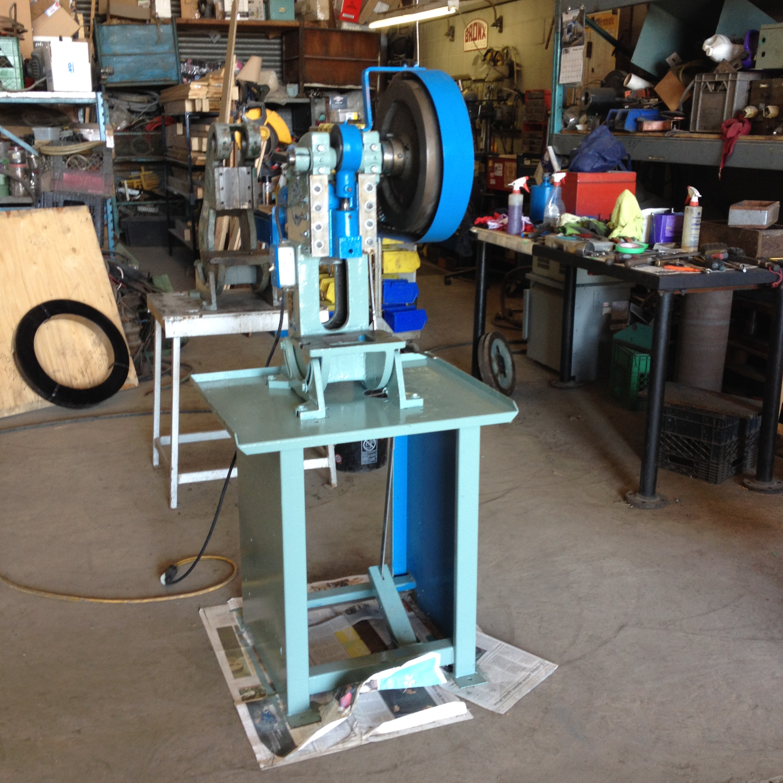 5 Ton Alva Allen Bt5 Obi Mechanical Punch Press Stevens