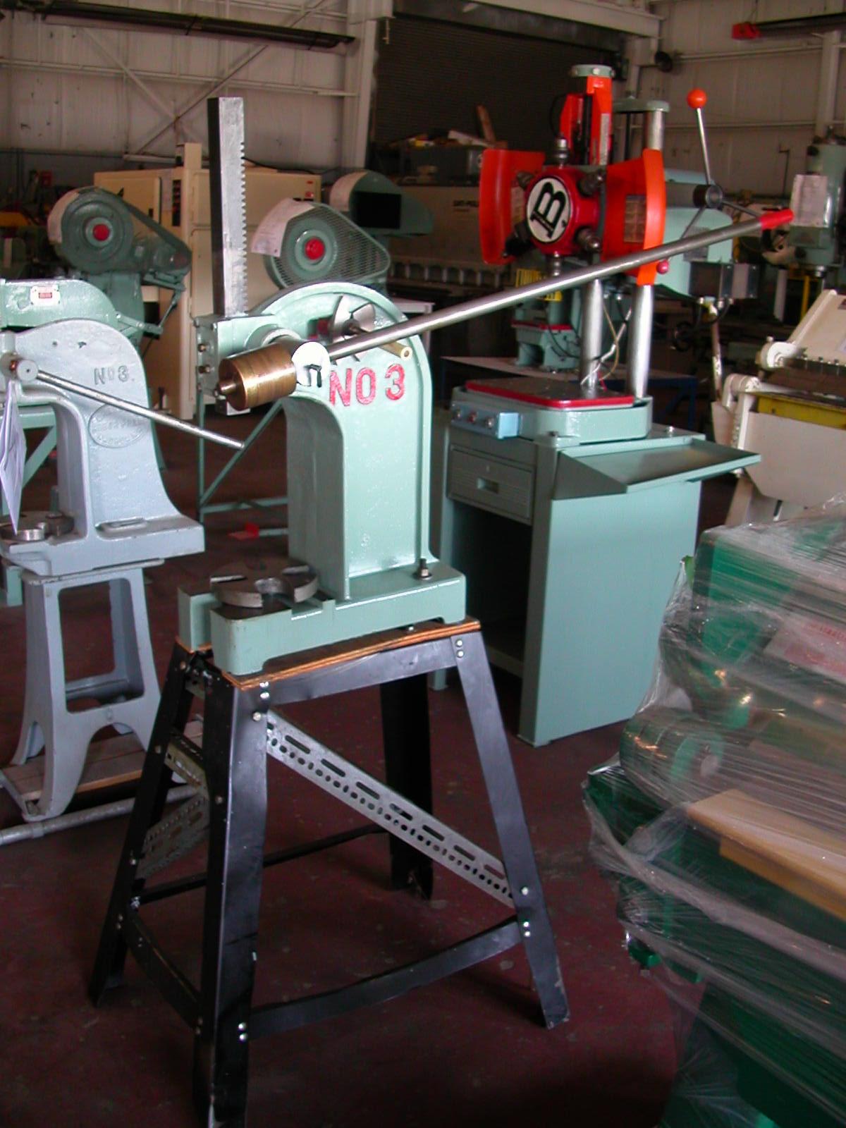 kick press machine