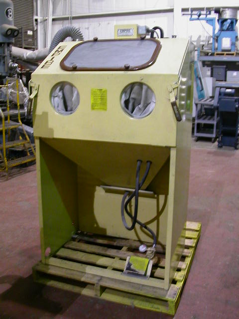187 Empire Ef 2436 Sand Blast Cabinet Amp Dust Collector Sold