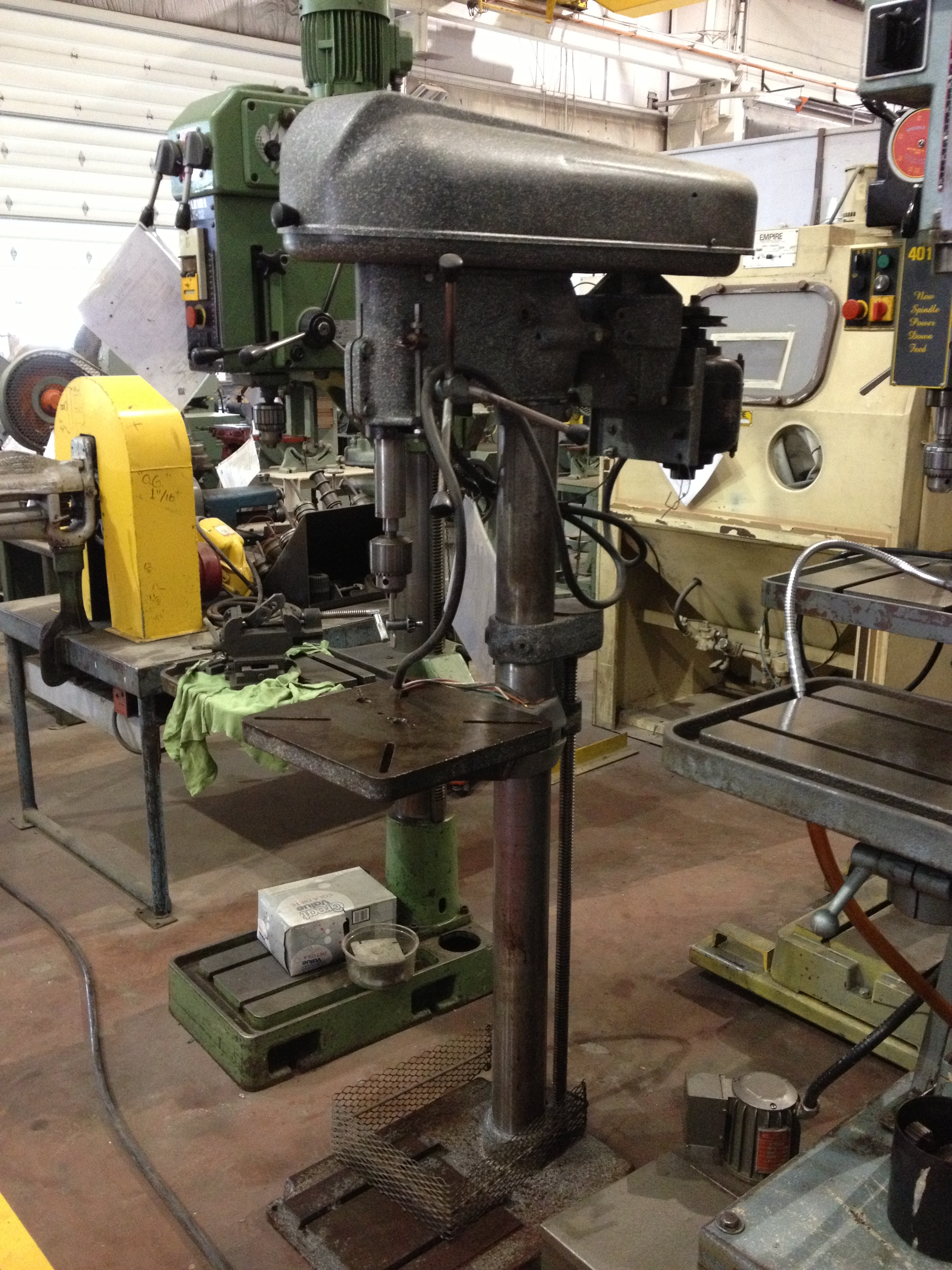 187 A Sms Stock Drill Press Buffalo 18