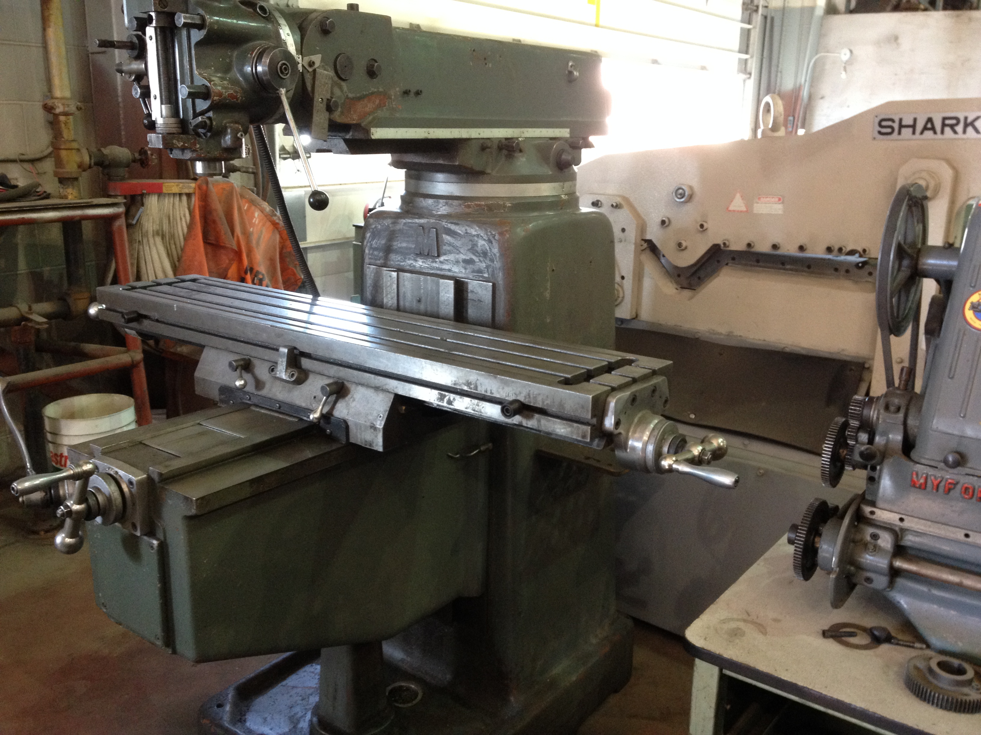 Horizontal Milling Machine >> » Milling Machines, Turret, Plain, Horizontal, Production, Universal, Huron-Style, Precision, Used