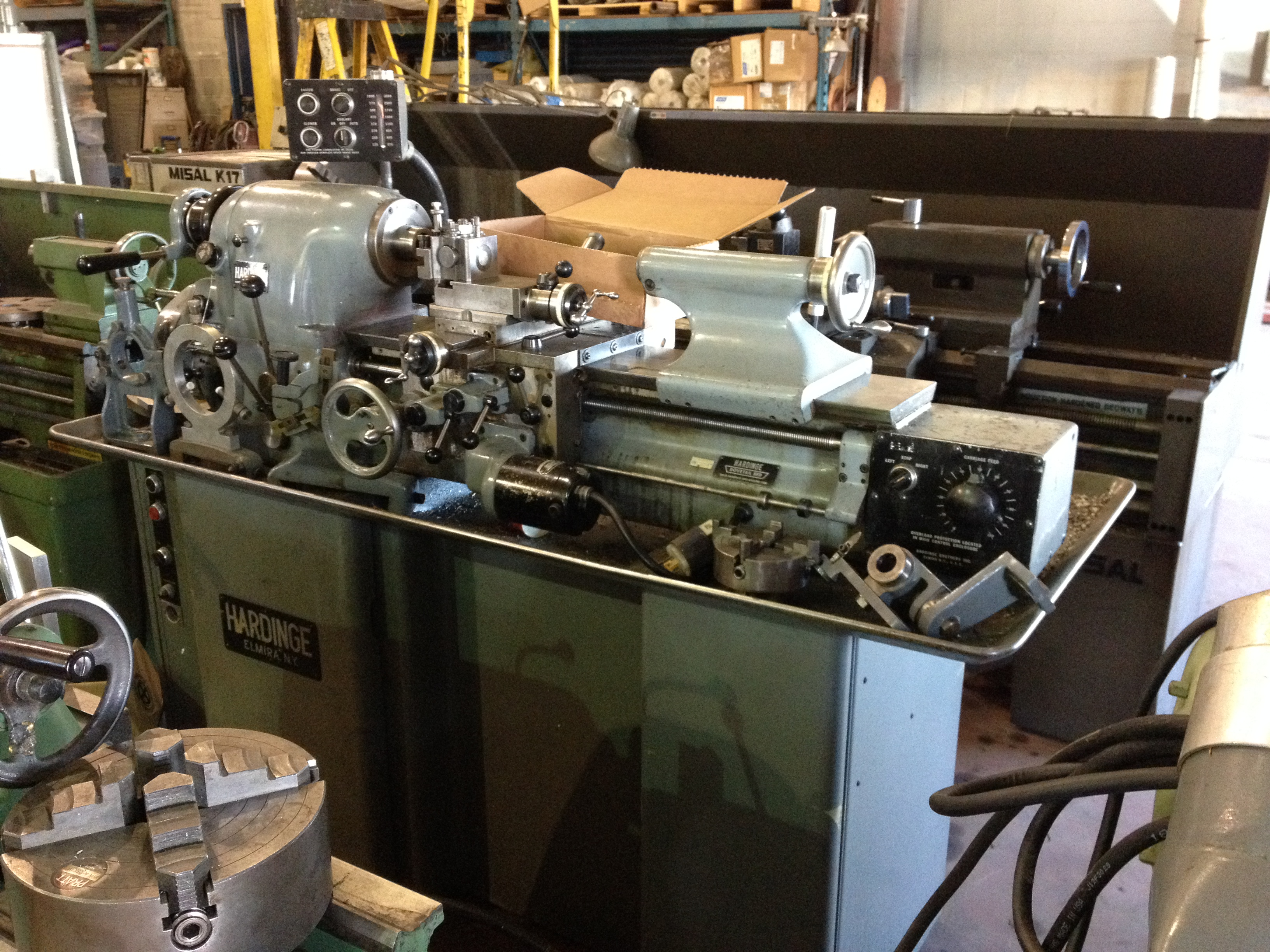used machine lathes