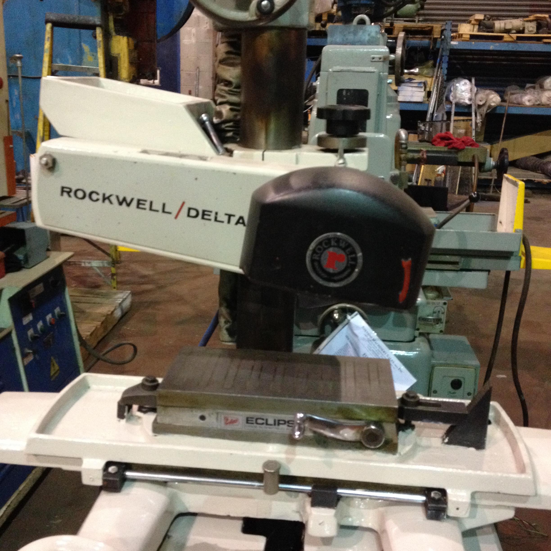 ROCKWELL/DELTA 6″ X 12″ MANUAL SURFACE GRINDER, 110 VOLT, MODEL 24-150