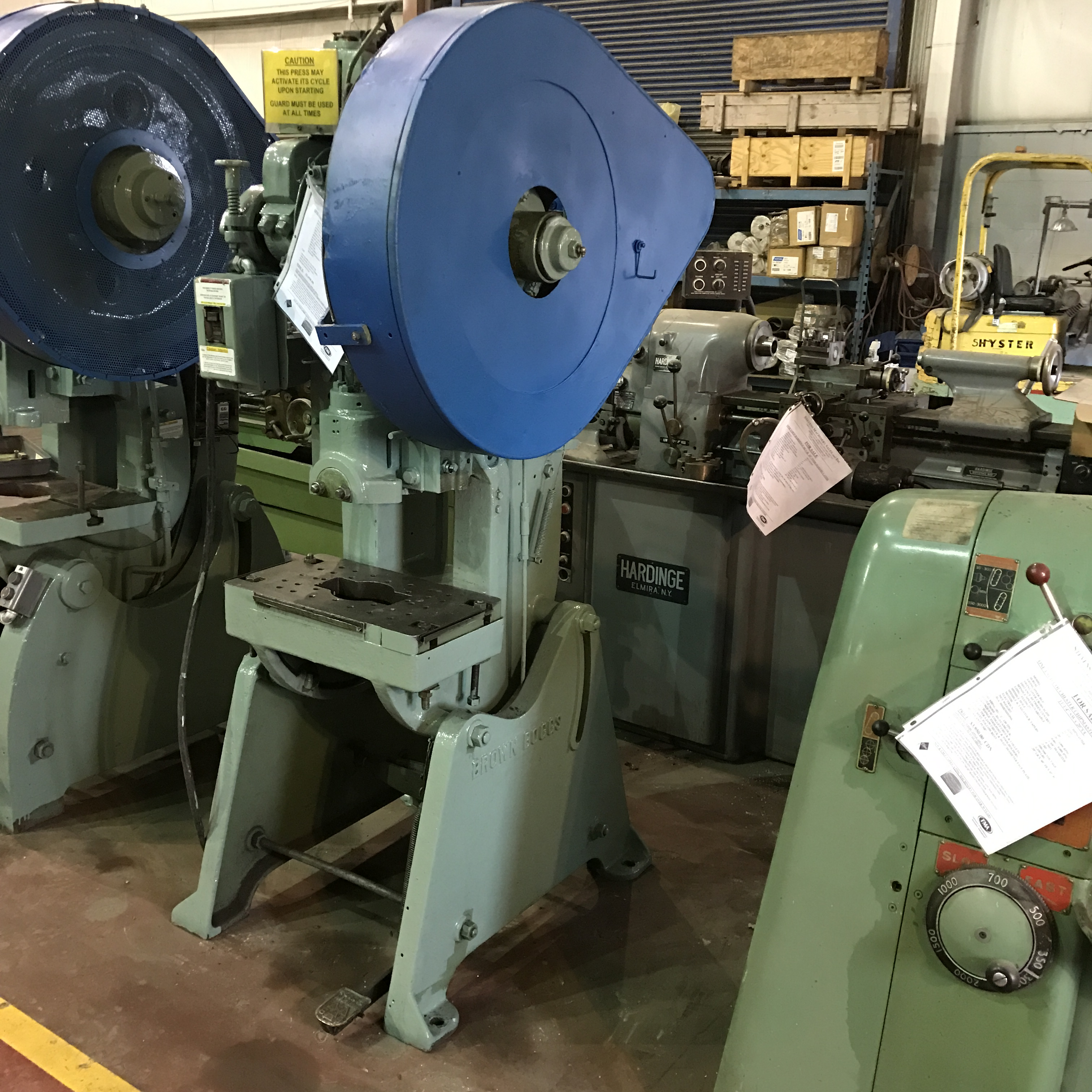 187 Presses Punch Mechanical Hydraulic Obi Metal